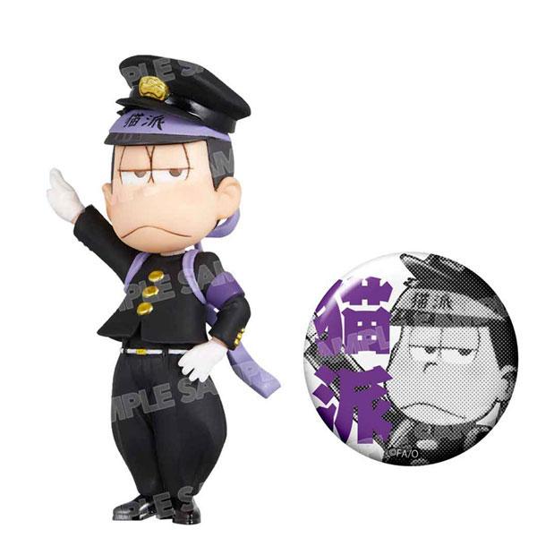 おそ松さん ワールドコレクタブルフィギュア-押忍松-黒ランver.(一松)[エイベックス]《在庫切れ》