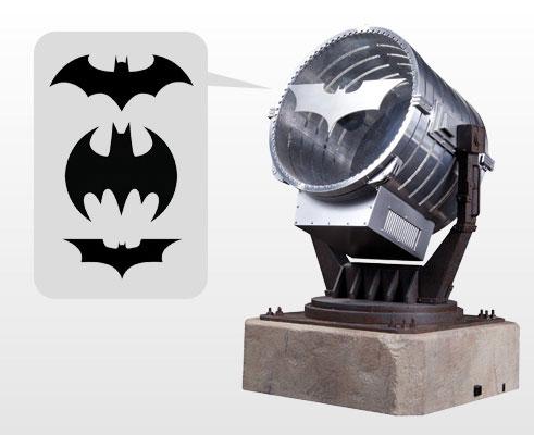 『DCコミックス』 DC プロップレプリカ バットシグナル投光器[DCコレクティブル]【送料無料】《在庫切れ》
