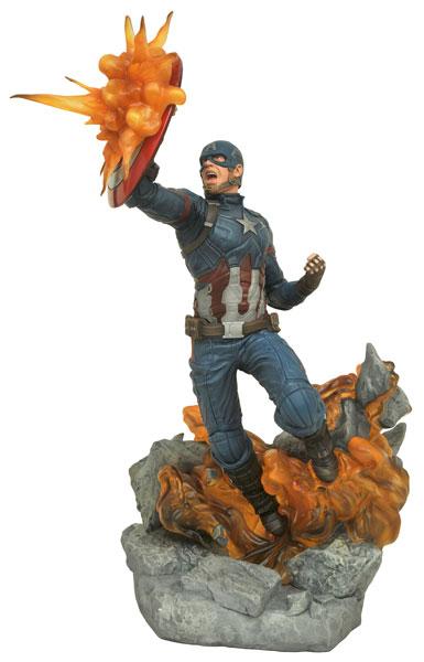 『シビル・ウォー/キャプテン・アメリカ』スタチュー マーベル・マイルストーン キャプテン・アメリカ