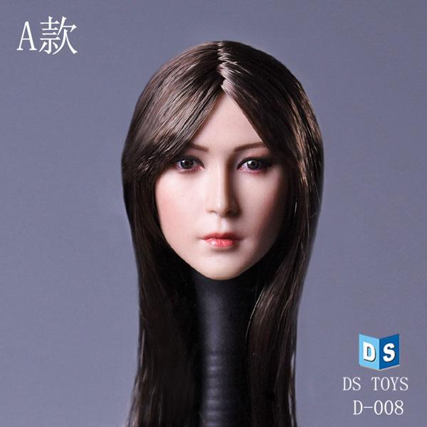1/6 アジア美女ヘッド D-008 A