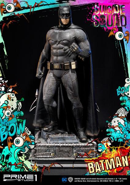 ミュージアムマスターライン/ スーサイド・スクワッド: バットマン 1/3 ポリストーン[プライム1スタジオ]【同梱不可】【送料無料】《在庫切れ》