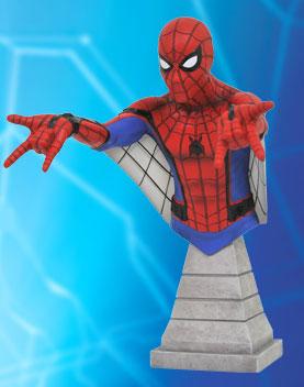 『スパイダーマン:ホームカミング』 ミニバスト スパイダーマン