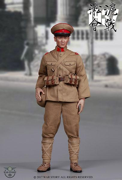 1/6 大日本帝国陸軍 十一年式軽機関銃 砲手 第二次上海事変1937