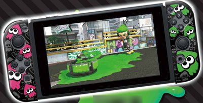 Joy-Con HARD COVER COLLECTION for Nintendo Switch (splatoon2)Type-B[キーズファクトリー]【送料無料】《在庫切れ》