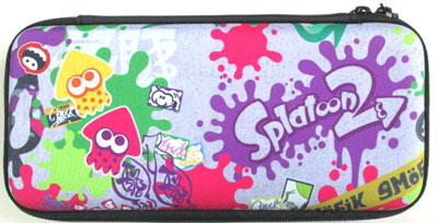 Splatoon2 ハードポーチ for Nintendo Switch グラフィティ(再販)[ホリ]《在庫切れ》