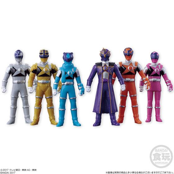 ソフビヒーロー 宇宙戦隊キュウレンジャー2 10個入りBOX(食玩)