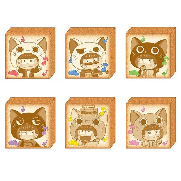 【特典】おそ松さん にゃんてぃかる(第2弾 ver.) トレーディングトーストバッジ 6個入りBOX[PROOF]《在庫切れ》