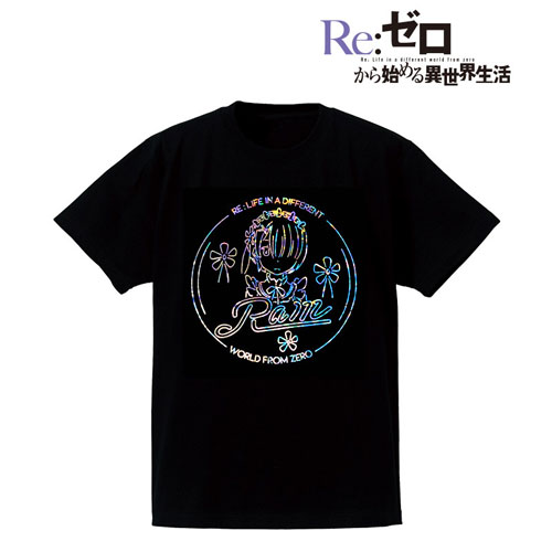 Re:ゼロから始める異世界生活 Ani-Neon ホログラムTシャツ(ラム)/レディース(サイズ/M)(再販)[アルマビアンカ]《08月予約》