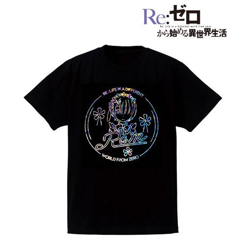 Re:ゼロから始める異世界生活 Ani-Neon ホログラムTシャツ(ラム)/レディース(サイズ/L)(再販)[アルマビアンカ]《08月予約》