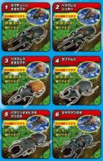 昆虫の森 カブトVSクワガタ最強バトル 10個入りBOX(食玩)