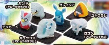 ポケットモンスター モンコレGET 神秘の雪原 10個入りBOX(食玩)