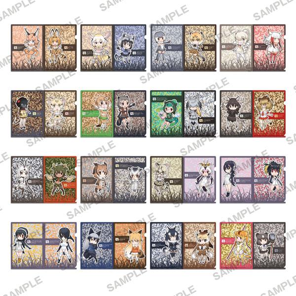 けものフレンズ ぷちクリアファイルコレクション 8個入りBOX[KADOKAWA]《在庫切れ》
