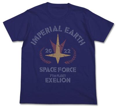 トップをねらえ! ヱクセリヲンデザイン Tシャツ/NIGHT BLUE-XL(再販)[コスパ]《09月予約》
