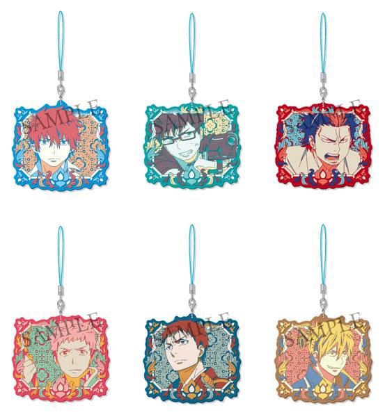 青の祓魔師 京都不浄王篇 ダイカットラバーストラップ 6個入りBOX[ソル・インターナショナル]《在庫切れ》