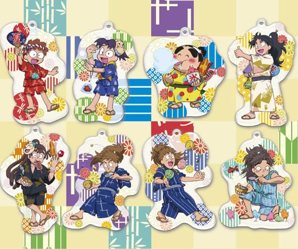 忍たま乱太郎 夏祭り ビッグアクリルコレクション 8個入りBOX[エンスカイ]《在庫切れ》