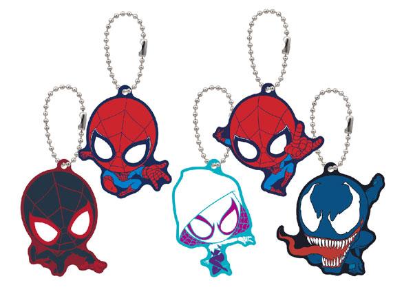 スパイダーマン キャララバーマスコット 5個入りBOX(再販)[エンスカイ]《在庫切れ》