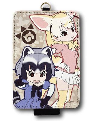 けものフレンズ ICカードケース フェネック&アライグマ (KMF-03B)[バンダイ]《在庫切れ》