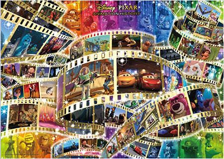 ジグソーパズル ディズニー/ピクサー アニメーション ヒストリー(48作品) 300ピース (D-300-03)[テンヨー]《取り寄せ※暫定》