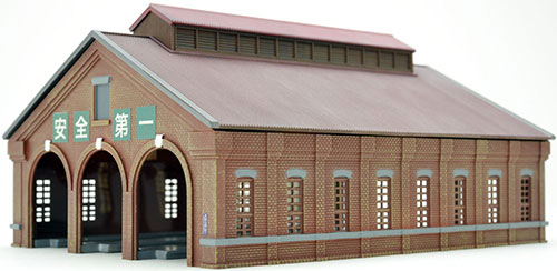 建物コレクション 122-2 三線式レンガ造り機関庫2[トミーテック]《取り寄せ※暫定》
