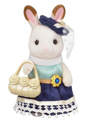 シルバニアファミリー TVS-02 ショコラウサギのお姉さん[エポック]《在庫切れ》