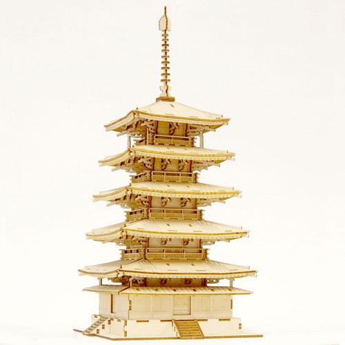 Wooden Art ki-gu-mi 五重塔[Azone]《取り寄せ※暫定》