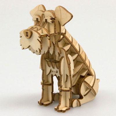 Wooden Art ki-gu-mi ミニチュアシュナウザー[Azone]《取り寄せ※暫定》