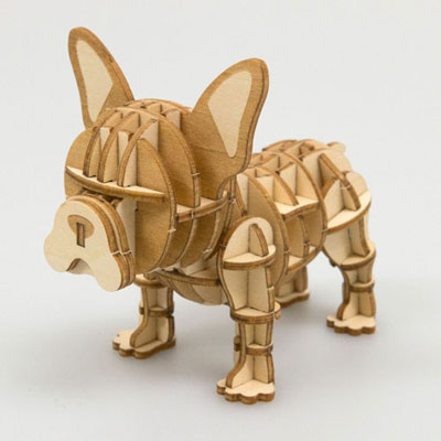 Wooden Art ki-gu-mi フレンチブルドッグ[Azone]《取り寄せ※暫定》