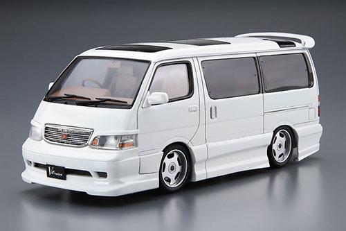 ザ・チューンドカー No.25 1/24 アズマックス KZH100ハイエース '99(トヨタ) プラモデル[アオシマ]《在庫切れ》