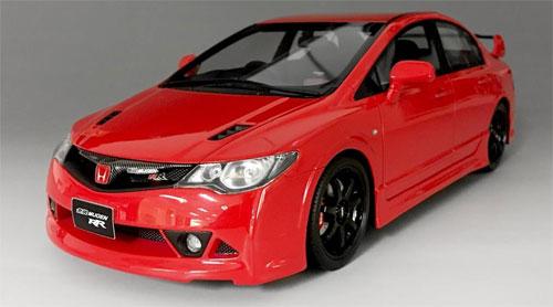 1/18 Honda Civic FD2 Mugen RR Red[ONEMODEL]【送料無料】《在庫切れ》