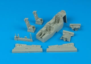 1/72 F-14A コックピットセット (H用)(再販)[アイリス]《在庫切れ》