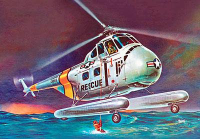 1/48 H-19 レスキュー ヘリコプター プラモデル[アメリカレベル]《取り寄せ※暫定》