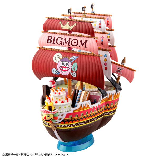 ワンピース 偉大なる船(グランドシップ)コレクション クイーン・ママ・シャンテ号 プラモデル(再販)[バンダイ]《発売済・在庫品》