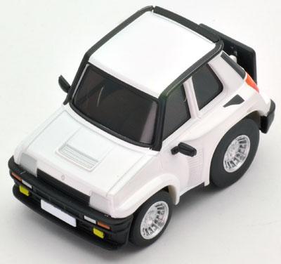 チョロQ zero Z50c ルノー5 ターボ2(白)[トミーテック]《在庫切れ》