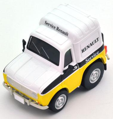 チョロQ zero Z46b ルノー4 フルゴネット サービスカー[トミーテック]《在庫切れ》