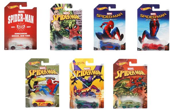 ホットウィール スパイダーマンムービー 36個入りアソート[マテル]《発売済・在庫品》