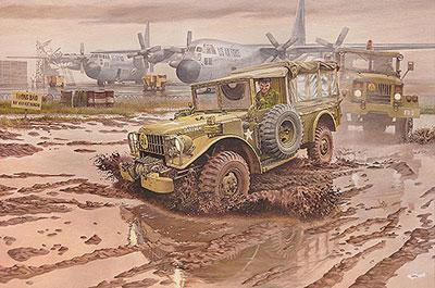 1/35 米ダッジM42コマンドトラック四輪駆動1950-60年 プラモデル[ローデン]《在庫切れ》