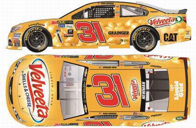 1/64 NASCAR Cup Series 2017 シボレー SS VELVEETA #31 Ryan Newman[Lionel Racing]《在庫切れ》