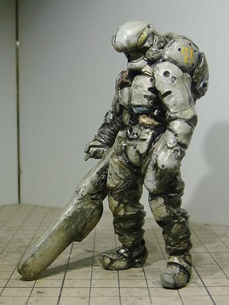 """マシーネンクリーガー Ma.K.026 New Alternative World C4 type-80 """"Dragon Arms"""" 1/20 未塗装組立キット[LOVE LOVE GARDEN]《在庫切れ》"""