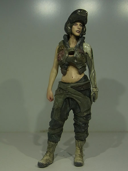 マシーネンクリーガー Ma.K.027 1/16 S.A.F.S.Mk.III RAPOON Female Pilot Figure 未塗装組立キット[LOVE LOVE GARDEN]《取り寄せ※暫定》