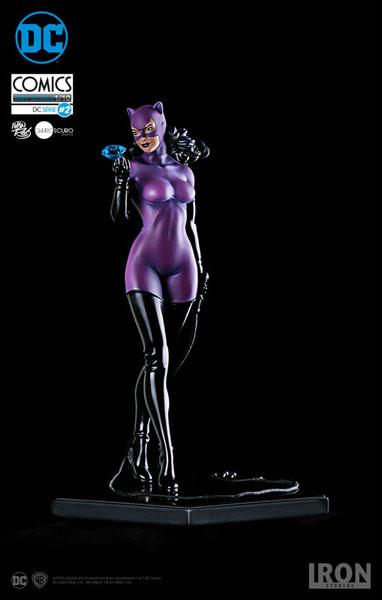 DCコミックス/ キャットウーマン 1/10 アートスケール スタチュー[アイアン・スタジオ]《取り寄せ※暫定》