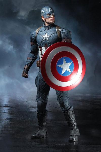 シビル・ウォー キャプテン・アメリカ/ キャプテン・アメリカ 1/4 アクションフィギュア