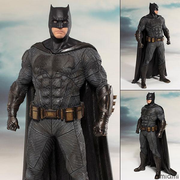 ARTFX+ JUSTICE LEAGUE バットマン 1/10 完成品フィギュア[コトブキヤ]《発売済・在庫品》