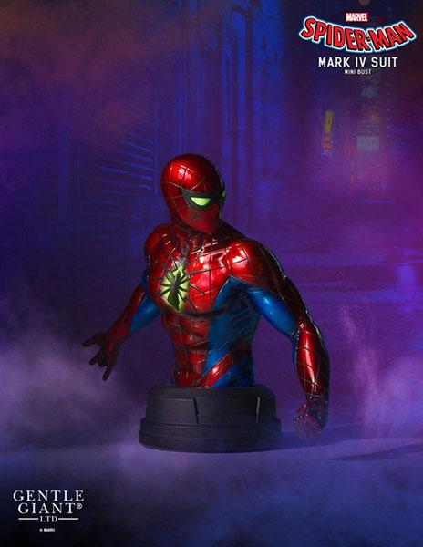 『マーベル・コミック』 ミニバスト スパイダーマン(オールニュー・オールディファレント・マーベル版)[ジェントル・ジャイアント]《在庫切れ》