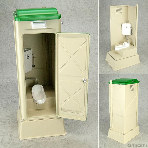 Mabell Original Miniature Model Series 1/12 仮設トイレ TU-R1J 完成品フィギュア[回天堂]《在庫切れ》