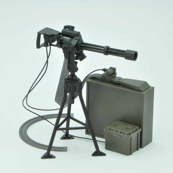 リトルアーモリー [LD012] 1/12 M134ミニガンタイプ(設置型) プラモデル[トミーテック]《在庫切れ》
