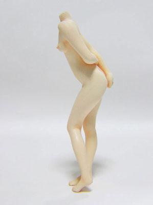 1/12 エロ素体組立キット(ボディのみ) No.03『シナ立位』(組み立て/塗装/加工が必要)