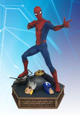 『スパイダーマン:ホームカミング』スタチュー プレミアコレクション スパイダーマン