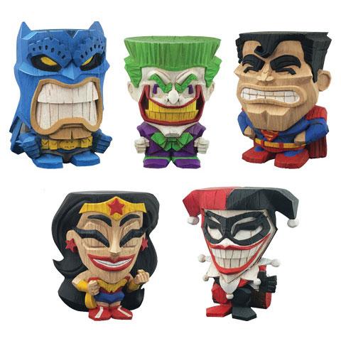 『DCコミックス』 ミニフィギュア 「ティーキーズ」シリーズ1〈アソートメント〉