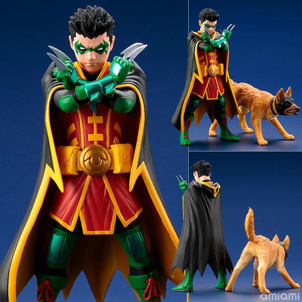 ARTFX+ DC COMICS REBIRTH スーパーサンズ ロビン&バットハウンド 2パック 1/10 完成品フィギュア