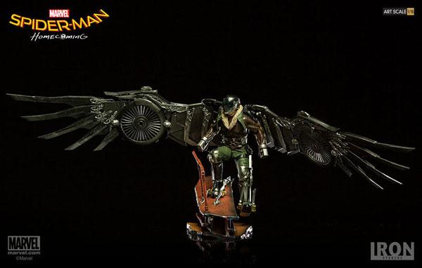 スパイダーマン ホームカミング/ ヴァルチャー 1/10 バトルジオラマシリーズ アートスケール スタチュー[アイアン・スタジオ]【送料無料】《在庫切れ》
